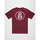REBEL8 Outline Logo Mens T-Shirt