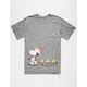 ROOK x Peanuts Follow Me Mens T-Shirt
