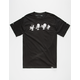ROOK x Peanuts Gang Skate Mens T-Shirt