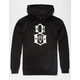 REBEL8 Standard Issue Logo Mens Hoodie