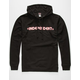 INDEPENDENT Bar Cross Mens Hoodie