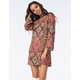 BILLABONG Gypsy Woven Dress