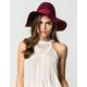 Ribbon Band Womens Floppy Hat