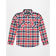 SHOUTHOUSE Ryder Boys Flannel Shirt