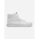 VANS Canvas Sk8-Hi True White Shoes