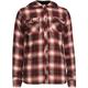 FULL TILT Hooded Girls Boyfriend Flannel Shirt