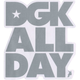 DGK All Day 4 Sticker