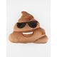 Sunny Poop Emoji Pillow