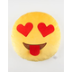 Smiley Face Heart Eyes Emoji Pillow