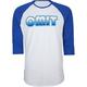 OMIT 70s Sunset Mens Baseball Tee