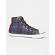 CONVERSE Chuck Taylor All Star Plaid Hi Girls Shoes