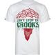 CROOKS & CASTLES Medusa Drips Mens T-Shirt