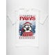 RIOT SOCIETY Santa Paws Mens T-Shirt