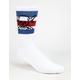 FOURSTAR Pirate Stripe Mens Crew Socks