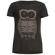 FULL TILT Owl Girls Step Hem Tee