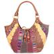 Spliced Ethnic Patchwork Hobo Bag