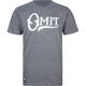 OMIT Script Mens T-Shirt
