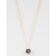 FULL TILT Dainty Crystal Necklace