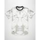 LIRA Mens Short Sleeve Bleached T-Shirt