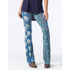 PATRONS OF PEACE Womens Knit Flare Pants
