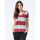 OTHERS FOLLOW Womens Striped Pocket Tee
