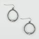 FULL TILT Bead Hoop Earrings