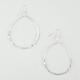 FULL TILT Metal Beaded Hoop Earrings