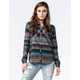 ROXY Camp Site Womens Flannel Shirt