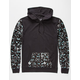 BLUE CROWN Paint Splatter Mens Lightweight Hoodie