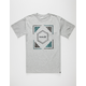 HURLEY Split Liner Mens T-Shirt