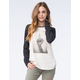 VANS Womens Off The Wall Raglan Tee