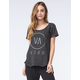 RVCA High End Womens Scoop Neck Tee