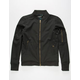 CIVIL Double Zip Mens Bomber Jacket
