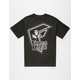 FAMOUS STARS & STRAPS x Misfits Crimson Badge Mens T-Shirt