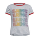 FULL TILT Sunshine Girls Ringer Tee