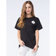 YOUNG & RECKLESS Circle Varsity Womens Tee