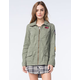ASHLEY Womens Patches Anorak Jacket