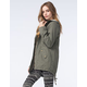 ASHLEY PREMIUM Womens Twill Anorak Jacket