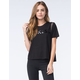 YOUNG & RECKLESS Womens Contrast Shoulder Tee