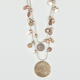 FULL TILT 2 Row Disc Necklace