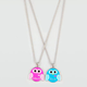 FULL TILT 2 Piece Best Friends Owl Necklaces