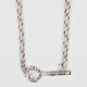 FULL TILT Rhinestone Key Necklace