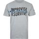 US VERSUS THEM Improvise Arrow Mens T-Shirt