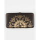Gold Medallion Hinged Wallet