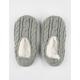 FULL TILT Cable Knit Womens Slipper Socks