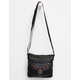 T-SHIRT & JEANS Embroidered Crossbody Bag