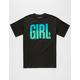 GIRL Big Girl Gradient Mens T-Shirt