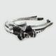 FULL TILT 3 Piece Glitter Bow Headbands