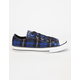 CONVERSE Chuck Taylor All Star Plaid Low Girls Shoes