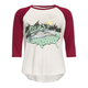 FULL TILT Girls Scenic USA Raglan Tee
